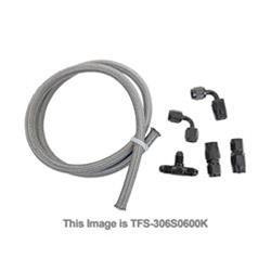 Trick Flow Specialties TFS-306S0600K - Trick Flow® GM LS Engine Steam Line Hoses