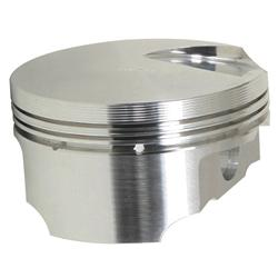 Trick Flow Specialties TFS-51604330-125 - Trick Flow® PowerPort® Forged Pistons for Ford Clevor