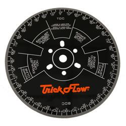 Trick Flow Specialties TFS-90000-16W - Trick Flow® Cam Degree Wheels